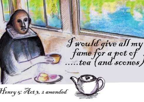 Cream Tea with Will
